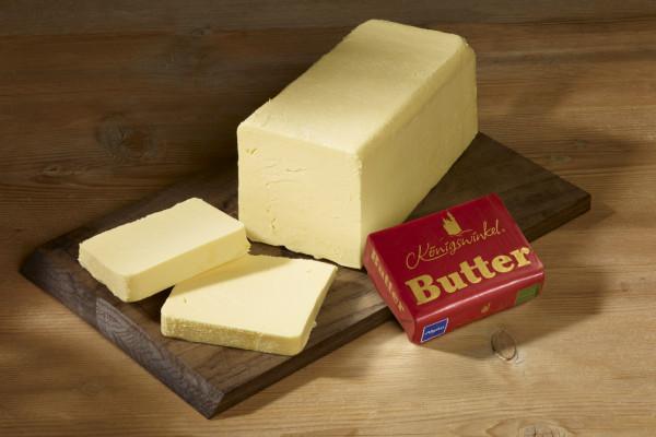 Königswinkel Butter ca. 250 gr. Stück
