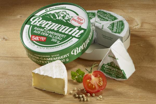 Bergwacht-Camembert 6/6 300g